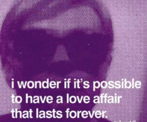 affair, afraid, and forever image