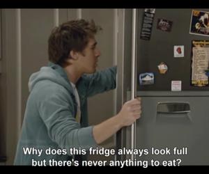 food, fridge, and eat image