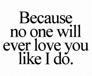 love, quote, and no one image