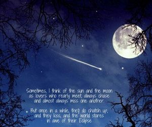 moon, moonlight, and quote image
