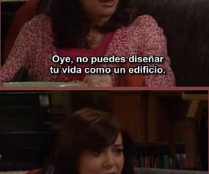how i met your mother, lily aldrin, and vida image