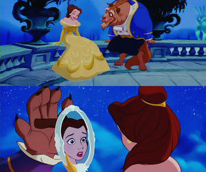 beast, belle, and enchanted image