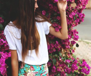 fashion, swag, and flowers image