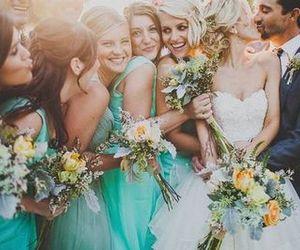 wedding, dress, and love image