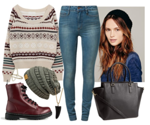 outfit, cute, and sweater image