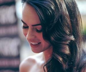 megan fox, hair, and smile image