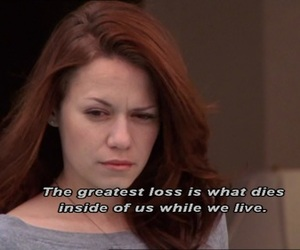 one tree hill, oth, and quote image