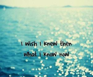 quote, wish, and sea image