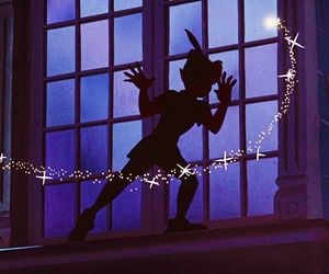 peter pan, disney, and neverland image