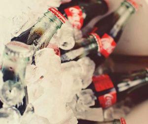 bebida, coca-cola, and gelo image