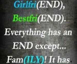 end, family, and bestfriend image