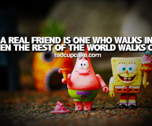 spongebob, friends, and friendship image