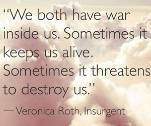 quotes, insurgent, and veronica roth image