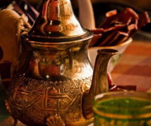 tea, morocco, and moroccan tea image