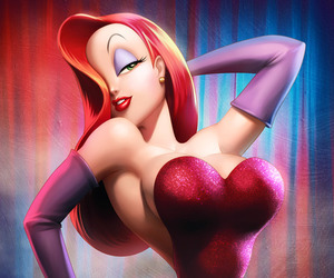 Jessica Rabbit, sexy, and jessica image