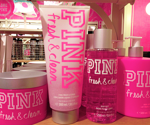 pink, Victoria's Secret, and girly image
