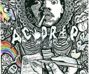 painting, chance the rapper, and acid rap image
