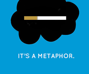 metaphor, tfios, and the fault in our stars image