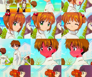 sakura card captor and shaoran li image