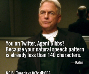 ncis, twitter, and gibbs image