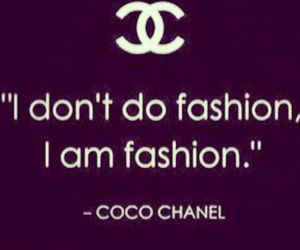 quote, chanel, and fashion image