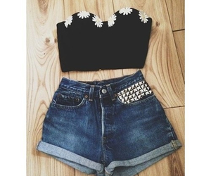 shorts, outfit, and summer image