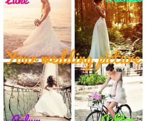 pretty, wedding, and luke hemmings image