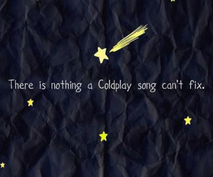 coldplay, song, and fix image
