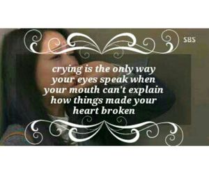 cry, problems, and girl image