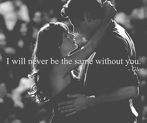 glee, love, and quote image