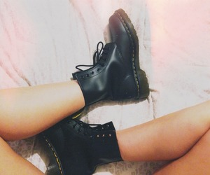 dr martens, shoes, and cute image