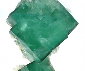 cube, fluorite, and green image