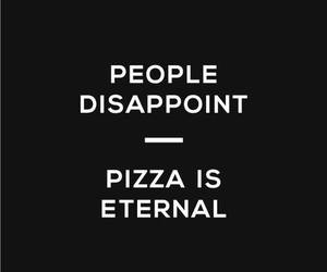 life and pizza image