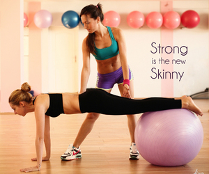 fitness, plank, and skinny image
