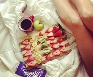 chocolate, nutrition, and fruit image