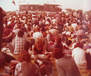 60s, 80s, and concert image
