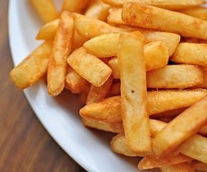 french, fries, and yum image