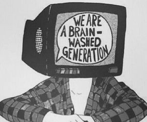 black and white, generation, and truth image