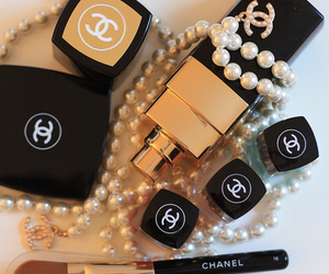 brush, makeup, and chanel image
