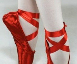 red pointes dance ballet image