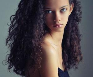 hair and model image