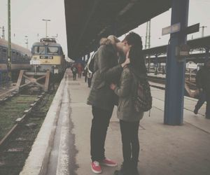 boys, travel, and couple image
