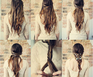 hair, hairstyles, and włosy image