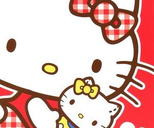 hello kitty, kawaii, and sanrio image
