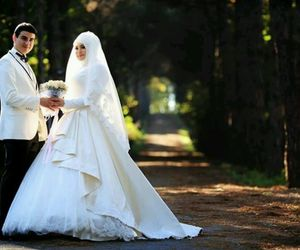 allah, wife, and husband image