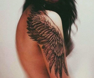 Angel Wings, dream tattoo, and cool image