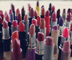 lipstick, make up, and red image