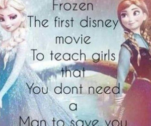 frozen, disney, and man image