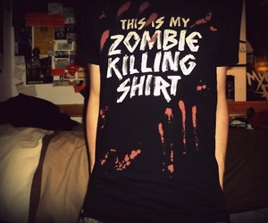 zombie and shirt image