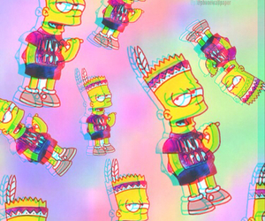 background, bart, and hipster image